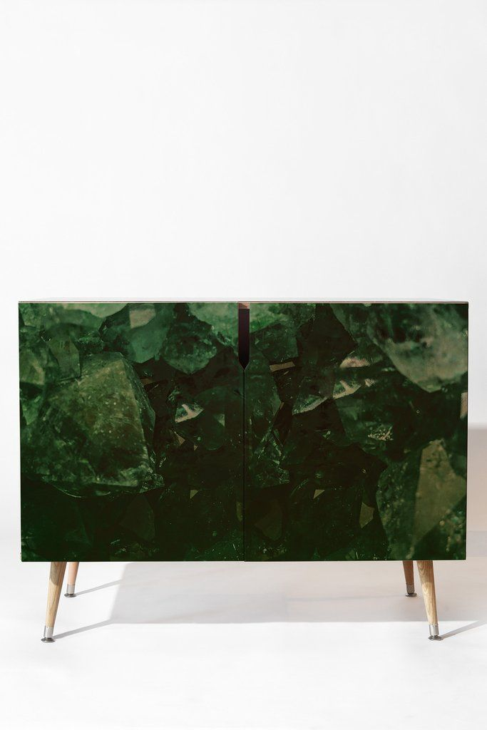 Leah Flores Emerald Gem Credenza | DENY Designs Home Accessories