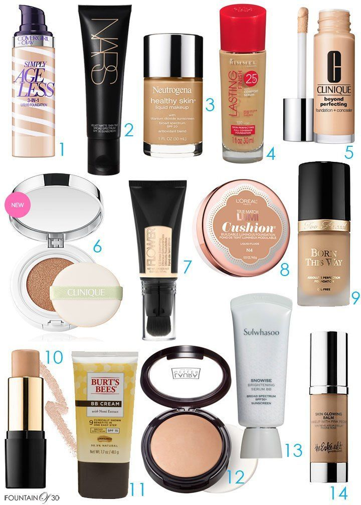 nice The Best of The Best in Anti-Aging Foundations
