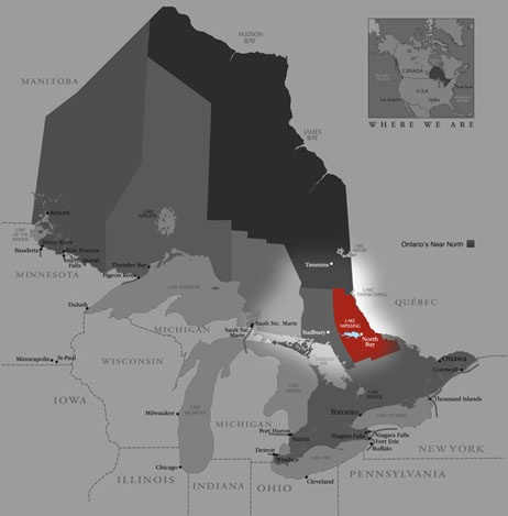 Where on earth is Ontario's Near North?