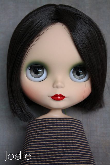 #OOAK #Blythe #doll in French style...