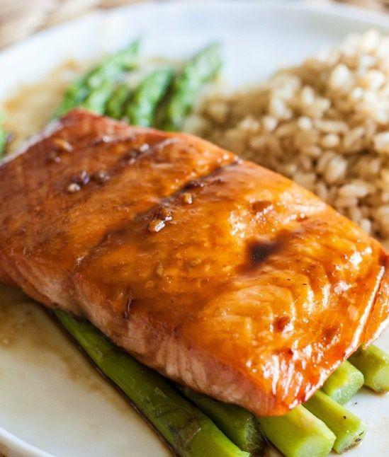 Asian Glazed Salmon   Easy recipes.