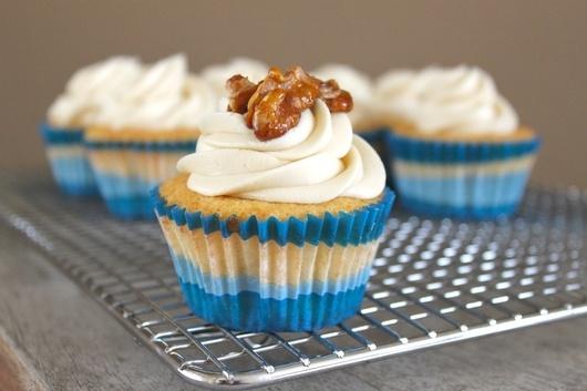 Vanilla Cupcakes with Maple and Walnut | Cupcake Heaven | Pinterest