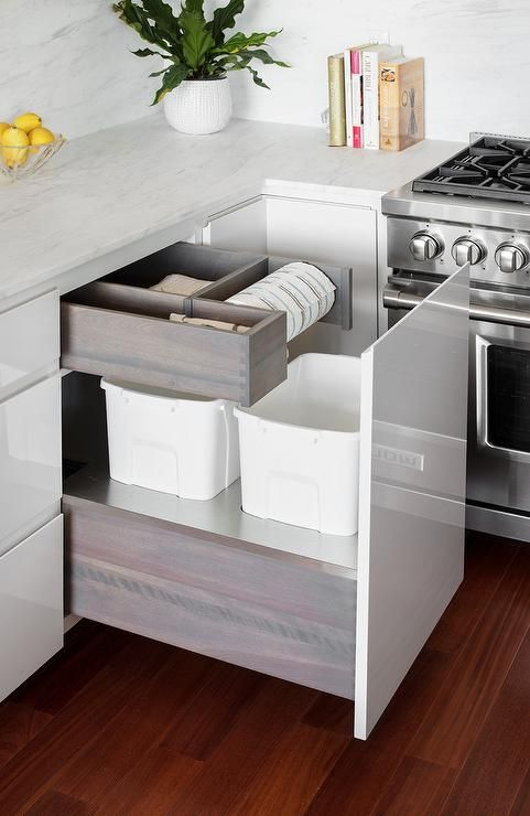 Download Wallpaper White Fitted Kitchen Units