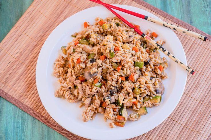 Hibachi arroz frito |  Jennifer cocineros