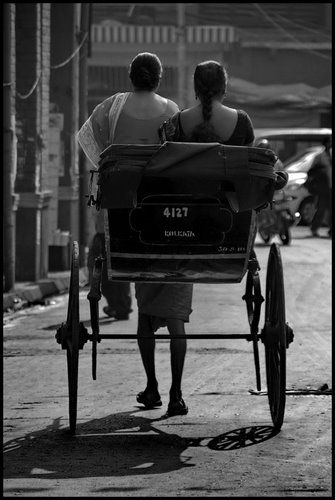 Carry that weight - Calcutta India