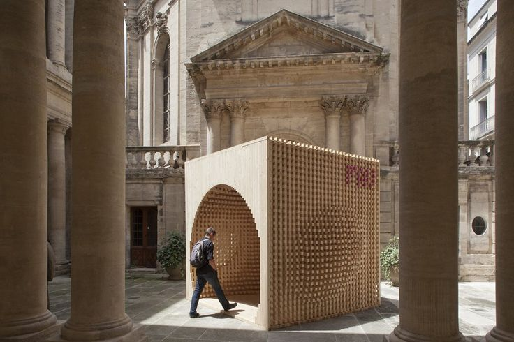 Pavilion for the Festival of Lively Architecture by AtelierVecteur