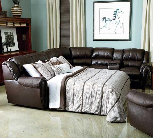 Lane summerlin 214 sectional sleeper sleeper sectionals for Lane leather sectional sleeper sofa