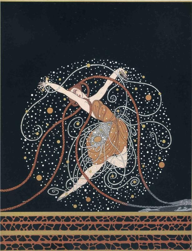 Erté - Erte - RT - Romain de Tirtoff - Illustration - Ondee