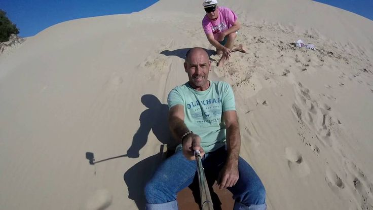Addo Sand Sledding and Sandboarding in South Africa with Dirty Boots and Addo Cruises #dirtyboots #sandboarding #sandsledding #addo #southafrica