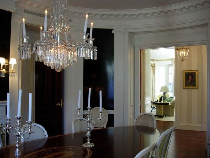 Dell Mitchell Architects Architect Boston Federal Greek Revival Neoclassical Dining Room