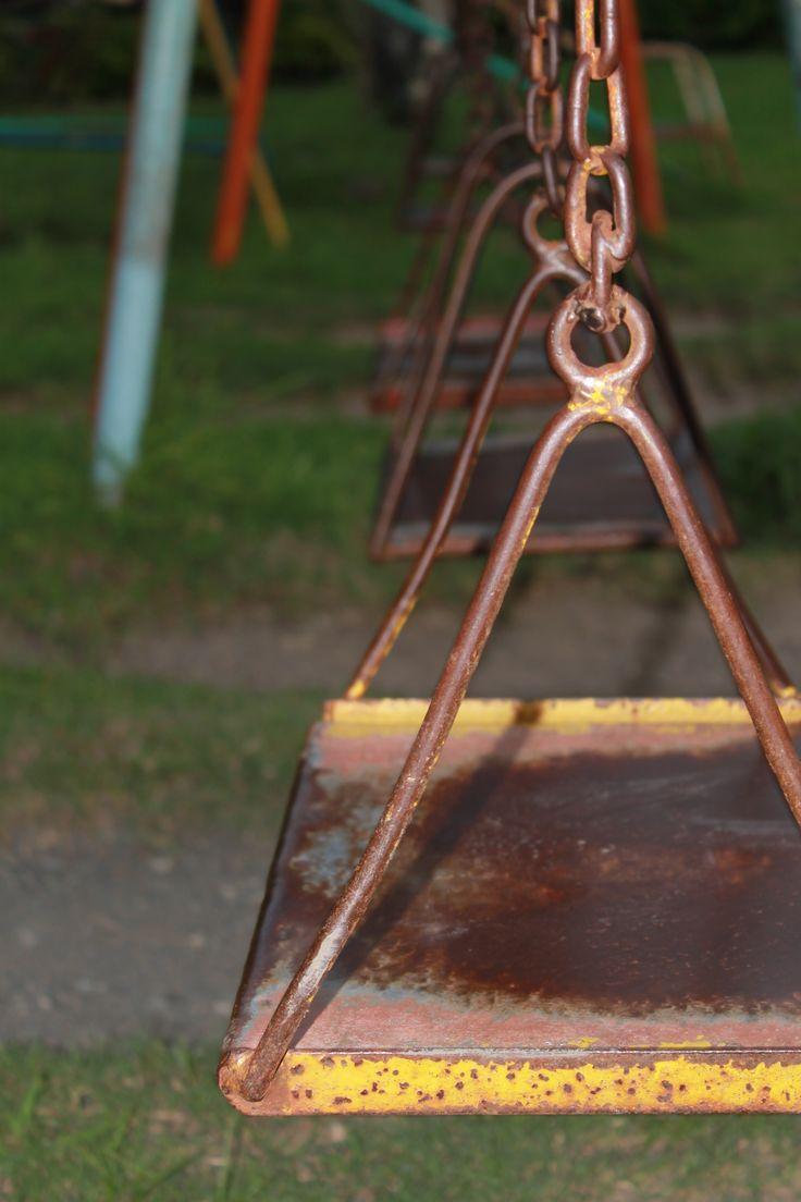 columpios de hierro