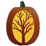 Pumpkin Carving Patterns and Free Pumpkin Carving Patterns and Stencils for your Halloween Jack O Lantern - Creepy Tree