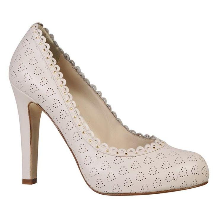 61 best ban the boring bridal shoe images on pinterest bridal love art wear art klara nude wedding shoes crystal bridal accessories junglespirit Choice Image