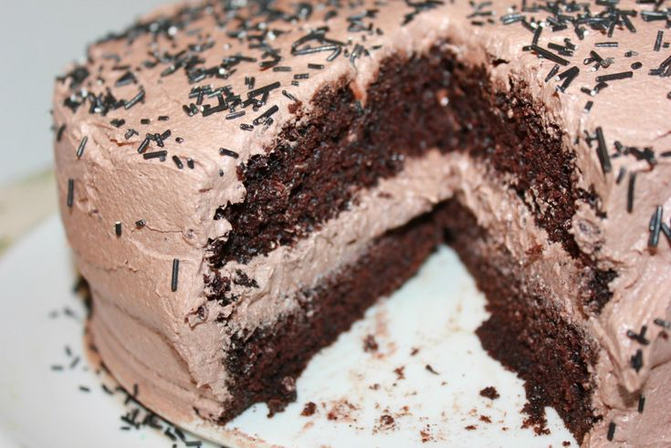 Nydelig, saftig enkel å lage sjokoladekake | Spiselise