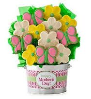 Image result for cheryls flower cookies on a stick