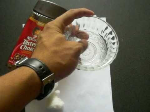 Cómo hacer hojas de café para cartas, pergaminos y más