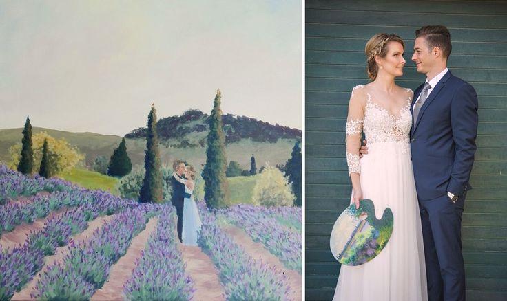 Lavender Fields Wedding Inspiration