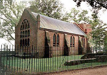The Jamestown Church at Historic Jamestown, VA
