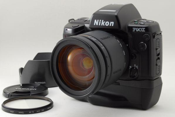 【EXC++++】NIkon F90X + TAMRON AF  28-200mm F3.8-5.6 IF + MB-10 From Japan #Nikon