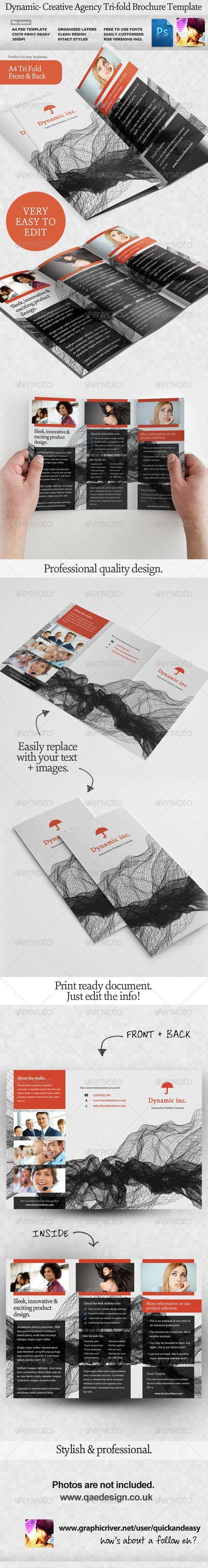Dynamic Tri-fold Brochure Template