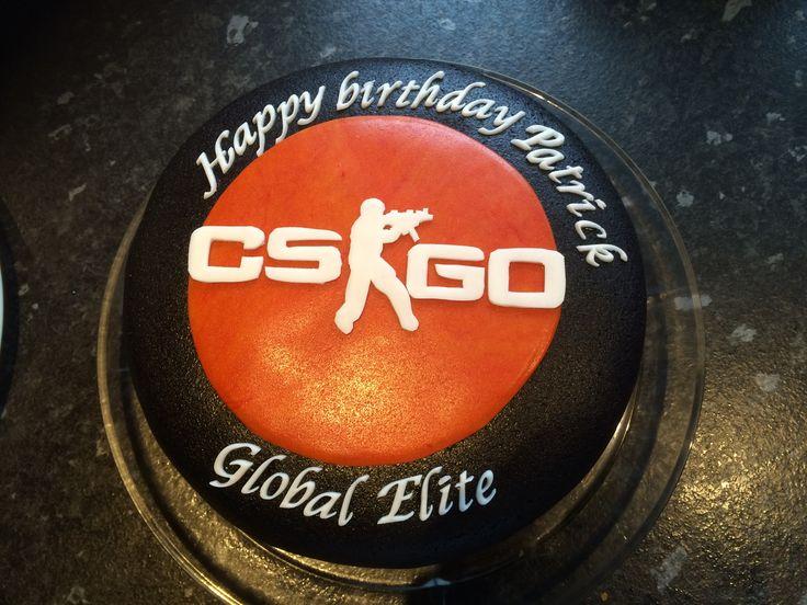 Counterstrike cake
