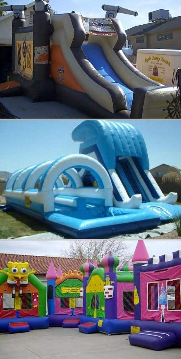 Allow Angel's Jump Around Bounce House Rentals to take your event to the next level. They provide big water slides, bouncy castles, party jumpers for different affairs. Check them out. Learn more at Thumbtack.com, where you can always find the right pro for you.
