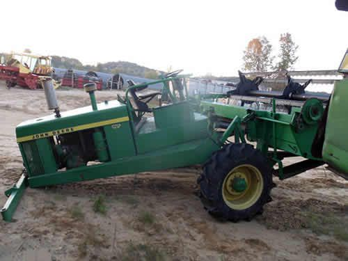 John Deere 2320 hay equipment salvaged for used parts. This unit is available at All States Ag Parts in Downing, WI. Call 877-530-1010 parts. Unit ID#: EQ-24962. The photo depicts the equipment in the condition it arrived at our salvage yard. Parts shown may or may not still be available. http://www.TractorPartsASAP.com