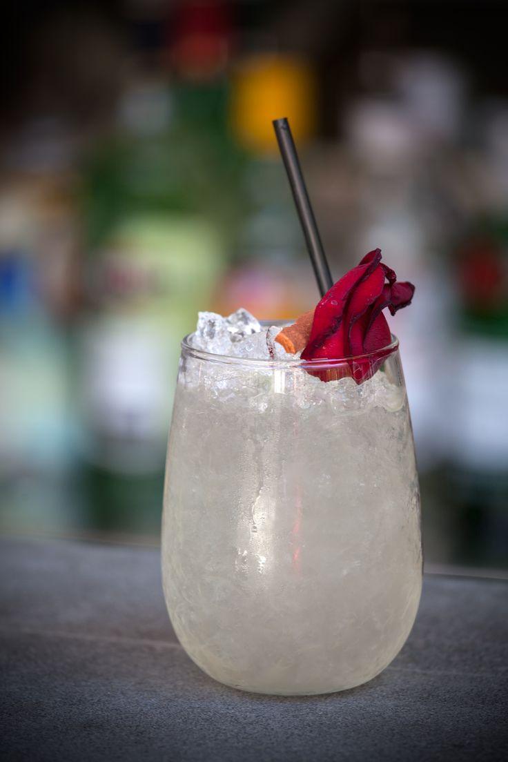 The Albion Siberian Rose: Vodka, rosewater, cinnamon, lime, elderflower liquor.