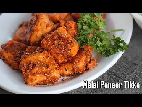Malai Paneer Tikka Recipe-how to make Paneer Tikka - Foodvedam