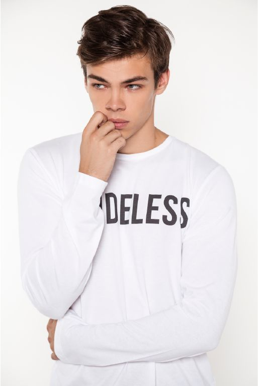 We are more than just a brand. We are individuals who question long-held beliefs...visit www.abideless.com to find out more #dope #style #men #fashion #model #white #tshirt