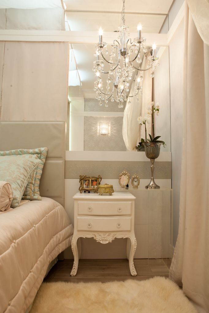 SUÍTE MASTER - QUARTO SUÍTE MASTER - QUARTO por Adriana Lima bedroom girl romantic quarto feminino romântico