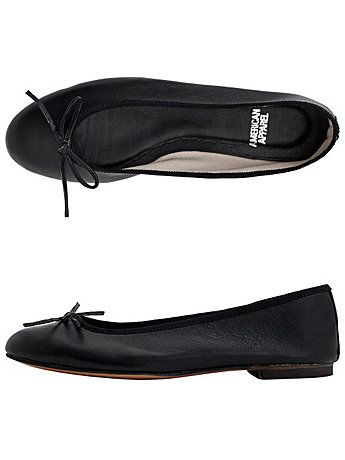 Leather Ballet Flat | American Apparel