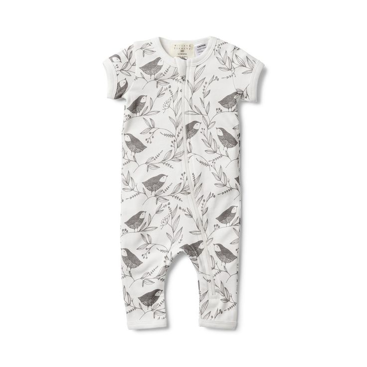 Wilson and Frenchy - Short Sleeve Zipsuit