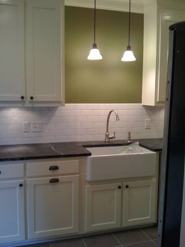 Kitchen Wall Light Over Sink : Anyone have a pendant light above their kitchen sink? Window, Pendants and Kitchen sinks