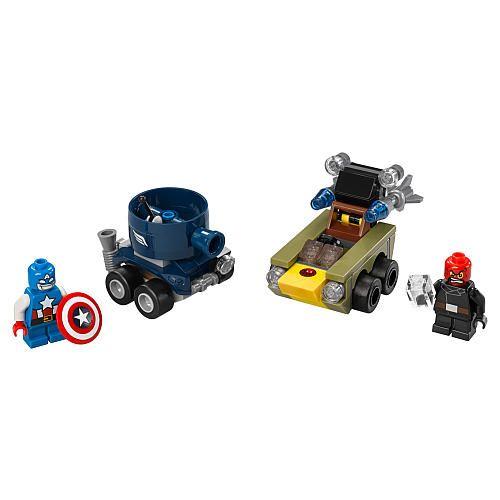 LEGO Super Heroes Marvel Mighty Micros: Captain America Vs. Red Skull (76065) $10.99  #BestPrice
