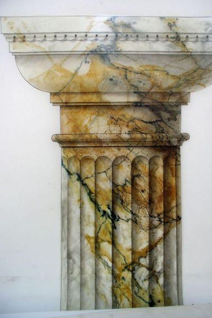 Marmormalerei | DekorationsMalerei Karin Hänni. (large picture)