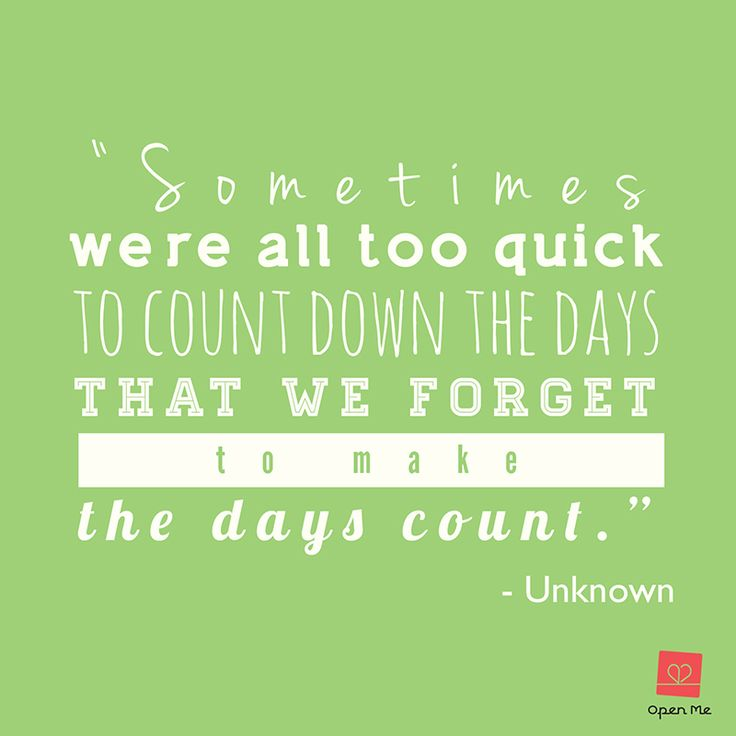 Make Your Day Count Quotes: Pin By Celine KD On