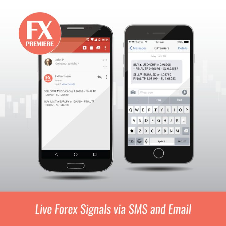 Sms forex signals