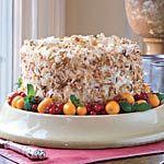 Coconut Almond Cream Cake + many more delectable coconut cake recipes.