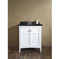 "OVE Decors Campo 30"" Single Vanity with Granite Countertop"