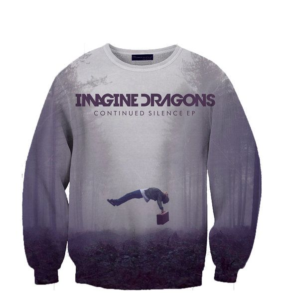 Imagine Dragons crewneck sweatshirt  Fan Art All Over Style Print