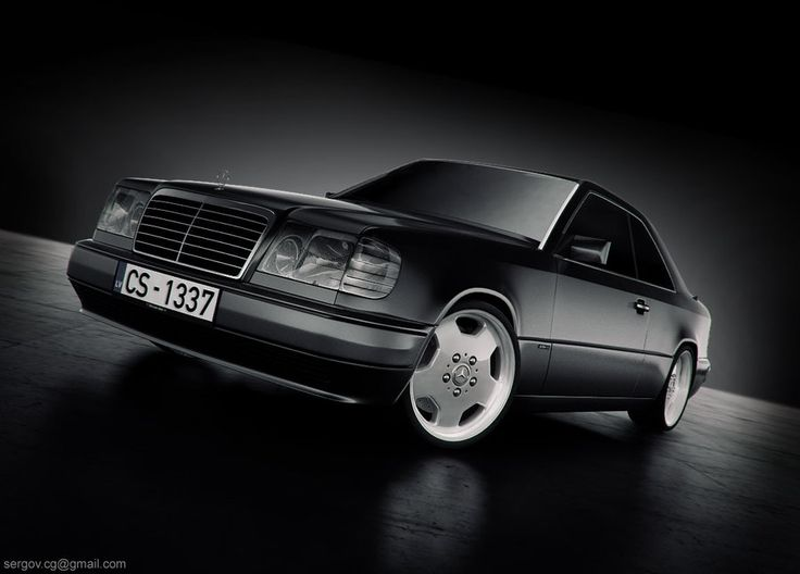 Mercedes-benz W124CE studio by sergoc58