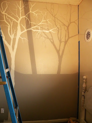 17 best images about woodland creatures room on pinterest for Best projector for mural painting