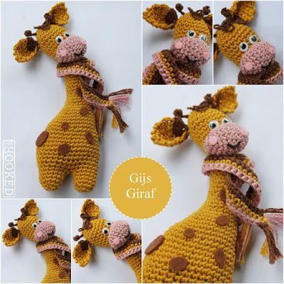 Mrshooked, #haken, gratis patroon, Nederlands, amigurumi, giraf, knuffel, speelgoed, #haakpatroon