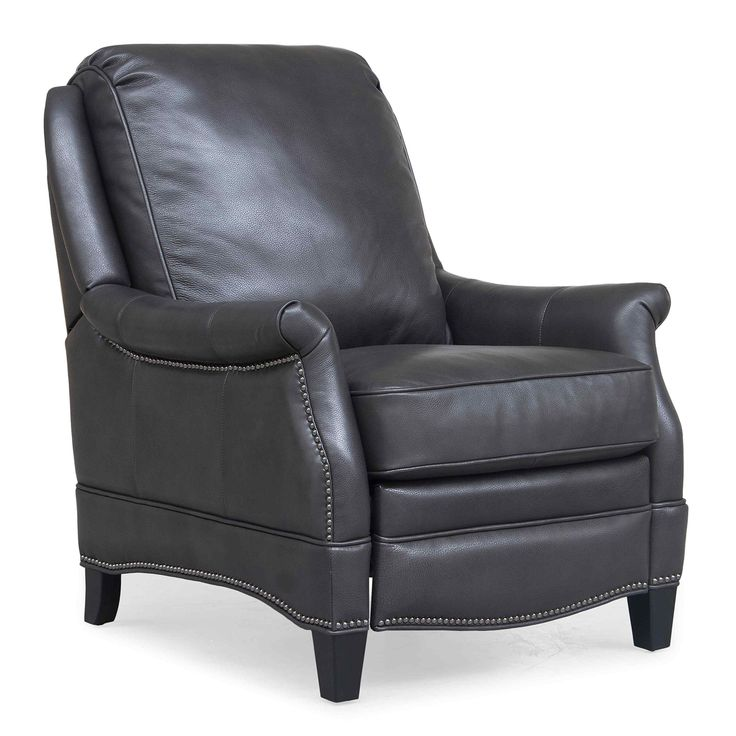 Share and Save $5 Off Any Order Over $99. (excludes a few products) BarcaLounger Ashebrooke Recliner in Wrenn Gray Leather #dynamichome