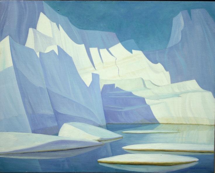 Iceberg Fantasy #19, 1972   Doris McCarthy