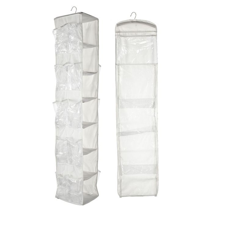 704221 2 Piece Complete Wardrobe Organiser Set by Lori Greiner - QVC Price: £33.00 Super Bargain Price : £19.96 + P&P: £3.95 2 Easy Pay instalments of  £9.98, plus P&P Select colour WHITE Optimise the space in your wardrobe with this two-piece wardrobe organiser set from inventor and entrepreneur Lori Greiner, which conveniently hangs from the rail in your wardrobe and spins 360 degrees so you can store things front and back for extra capacity. This slim, vertical storage solution enables...
