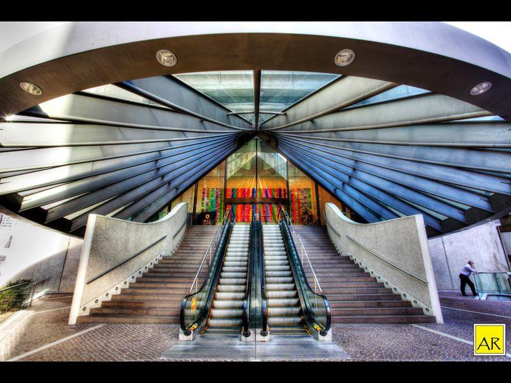 MLC entrance. Copyright Aaron Rusden Photography
