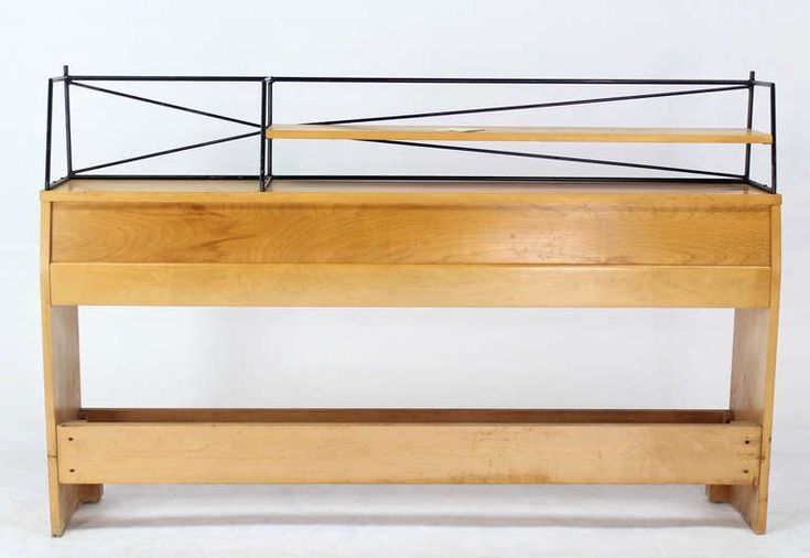 Full Size Mid-Century Modern Headboard by Paul McCobb | From a unique collection of antique and modern bedroom furniture at https://www.1stdibs.com/furniture/more-furniture-collectibles/bedroom-furniture/