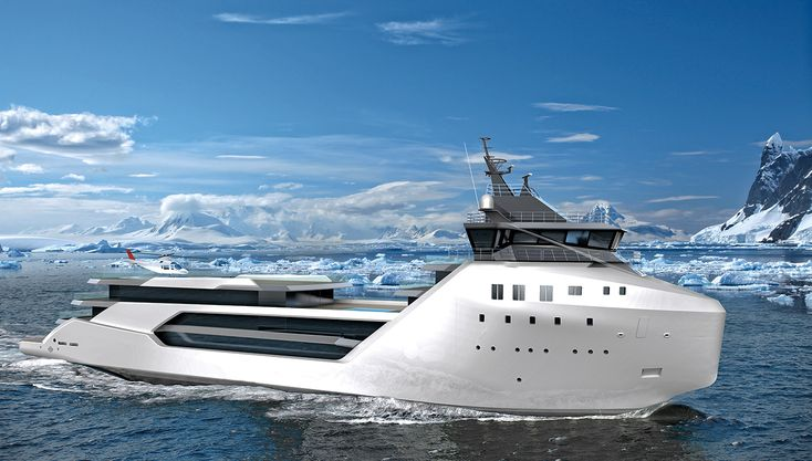 This Radical $62 Million Expedition Superyacht Is Designed to Explore the Globe #Superyacht